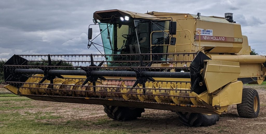 Combine Harvester Driving in Yorkshire